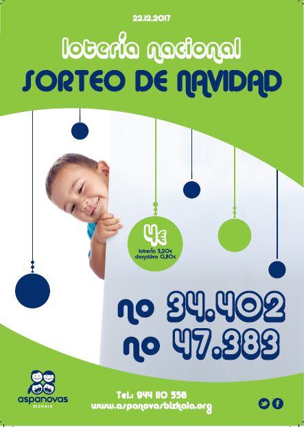 Cartel Loteria Navidad2017)