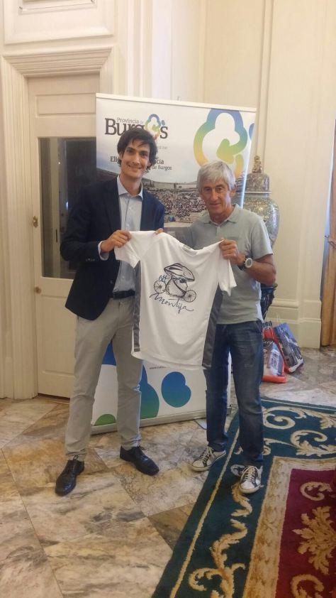 Marino Lejarreta ya tiene su camiseta